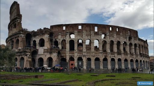 The Roman Colosseum Part Wide JUUCHINI