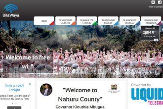 Nakuru Bilawaya Free WiFi Initiative By Liquid Telecom JUUCHINI