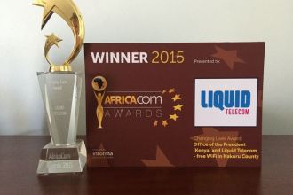 Nakuru Bilawaya WiFi Initiative By Liquid Telecom Wins Award At AfricaCom In CapeTown South Africa JUUCHINI