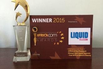 Nakuru Bilawaya WiFi Initiative By Liquid Telecom Wins Award At AfricaCom In CapeTown South Africa JUUCHINI