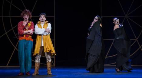 Papageno, Tamino y las Damas