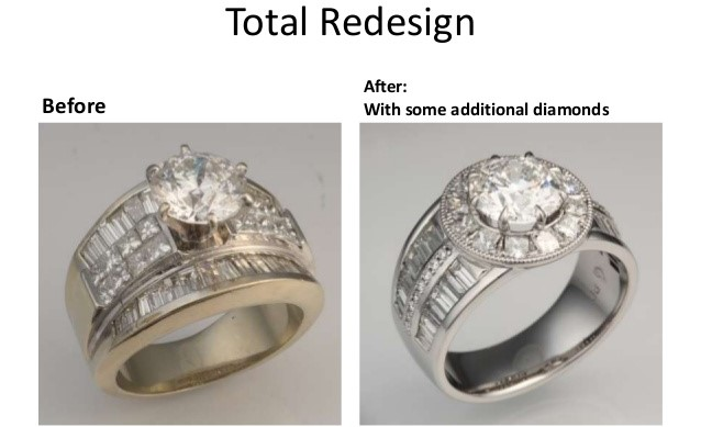 Jewelry Redesign San Diego Redesign Old Jewelry In San Diego Ring