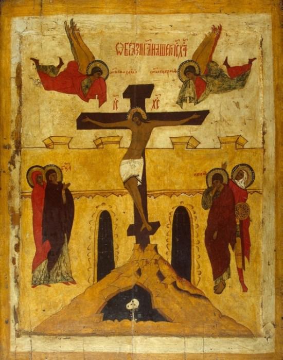 Распятие Господа Иисуса Христа. Икона