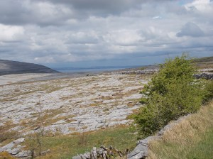 Galway Bay from the Burren