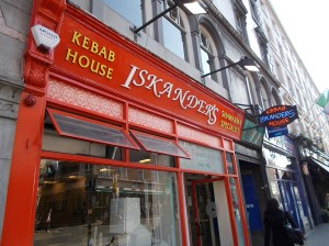 Iskander's Kebab House, Dublin.