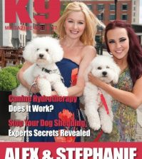 K9 Magazine Issue 57 with Alex Fletcher and Stephanie Davis