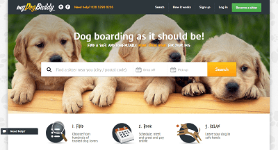 myDogBuddy home page