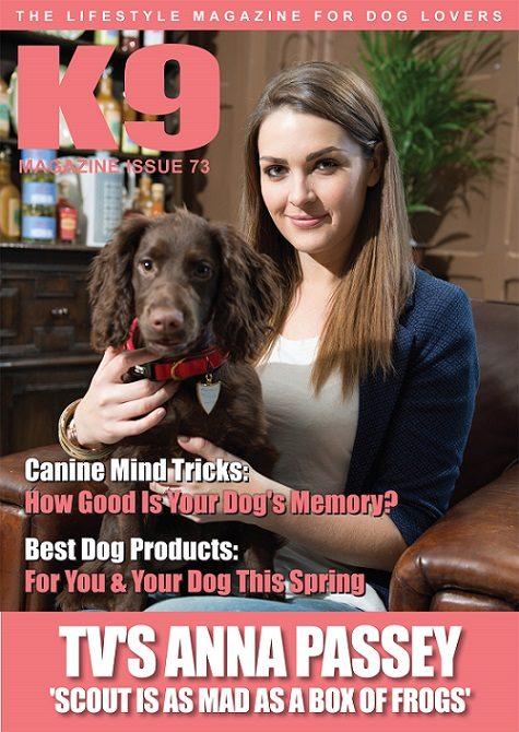 K9 Magazine Issue 73 Cover - Anna Passey (LR)