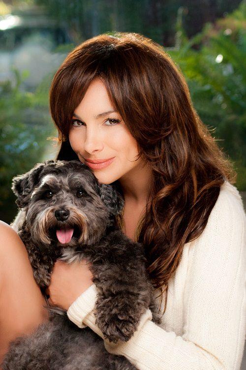 Patricia de Leon with dogs for K9 Magazine
