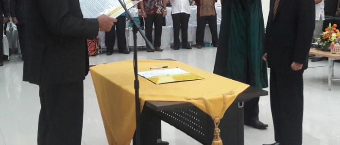Asnel Jabat Sekda Kota Padang Definitif