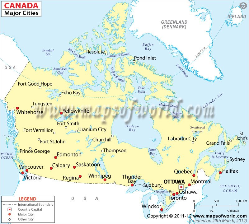 USA And Canada Map Usa Large Detailed Political US World With