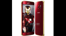 Samsung Galaxy S6 Edge - The Iron Man Edition