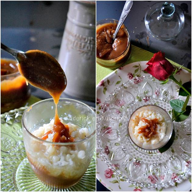 recette riz au lait chocolat ou riz au caramel beurre sal. Black Bedroom Furniture Sets. Home Design Ideas