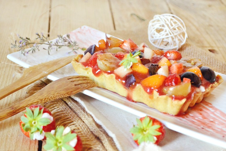 Multi fruits - Tartelettes aux fruits, brousse et coulis