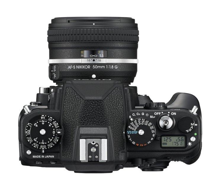 Nikon Df widok z góry