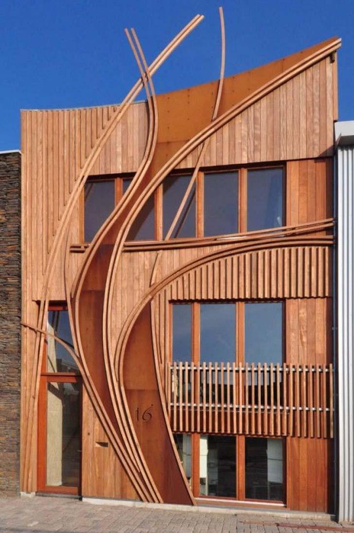 Art nouveau architectural style sought new graphic design for It architecture design