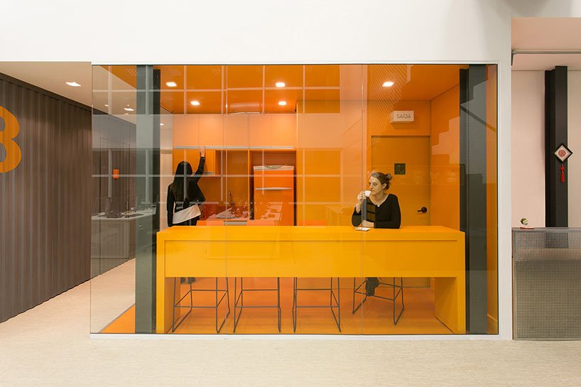 modern office design for xiaomi in brazil by arkiz