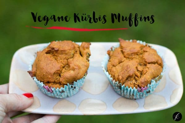 Vegane Kürbis Muffins leicht gemacht