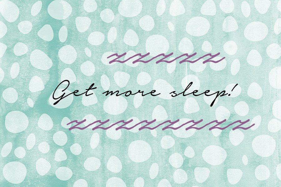 Müde und erschöpft? Her mit dem süßen Schlaf!