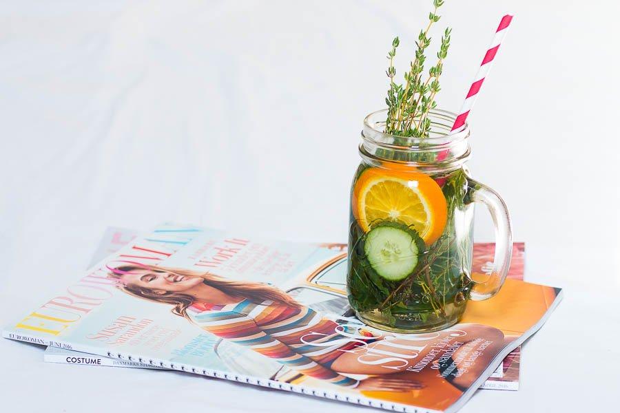 Infused Water / Köstliche Durstlöscher für den Sommer
