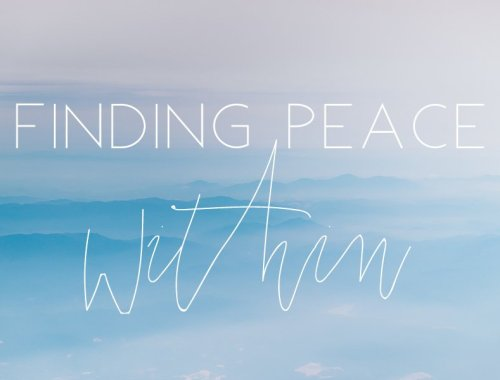 finding peace within