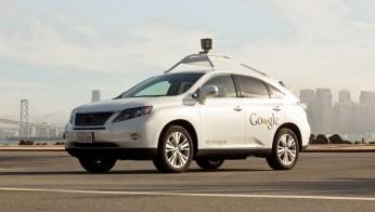 Pildil Google'i isesõitva auto prototüüp