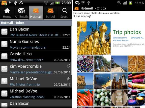 Hotmail for Android
