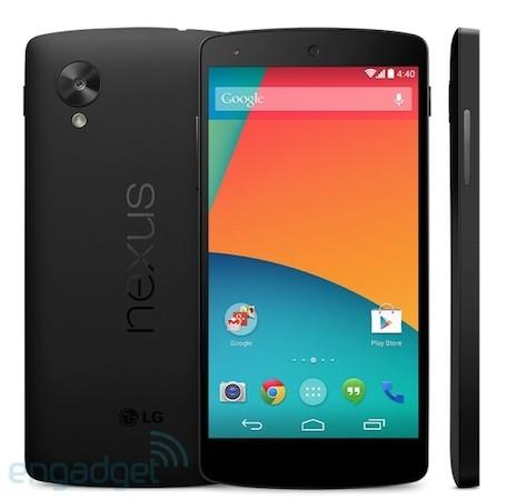 Nexus 5 press