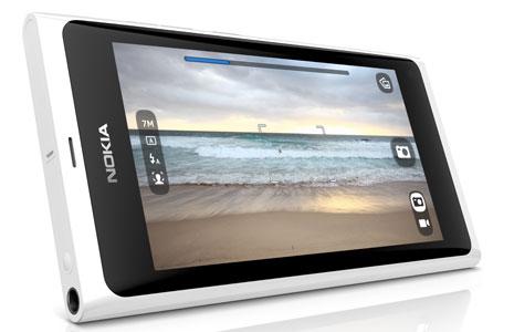 Valge Nokia N9