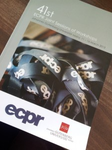 ecpr js 2013 programme 225x300 Hot off the Press