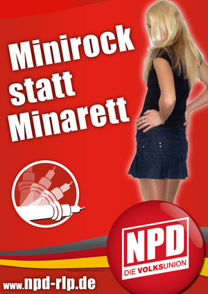 miniskirt minaret Miniskirts and Genocide: Inside the Topsy Turvy World of NPD Propaganda
