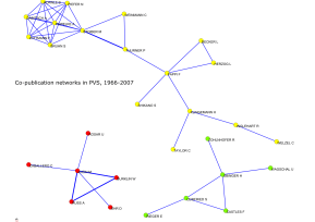pvscoauthors Social Networks in Political Science