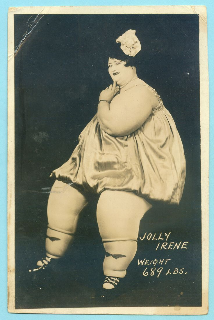 Jolly Irene, 1920, donna-cannone