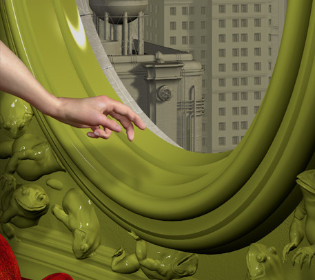 Ray Caesar , detail The Healing LightD2