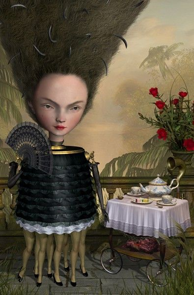 Ray Caesar The Widow Tea PArty