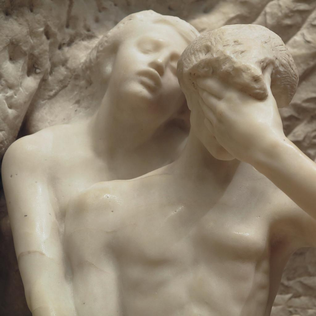 Rodin, Orfeo ed Euridice