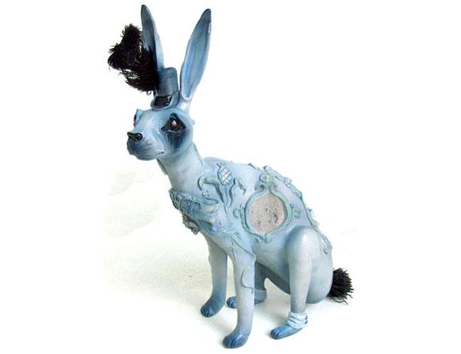 Liz McGrath, blue bunny