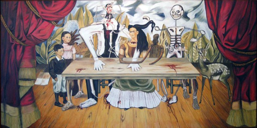 The Wounded Table, 1940 by Frida Kahlo