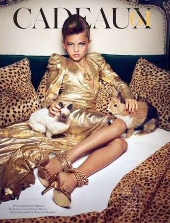 Thylane Blondeau in Vogue Paris