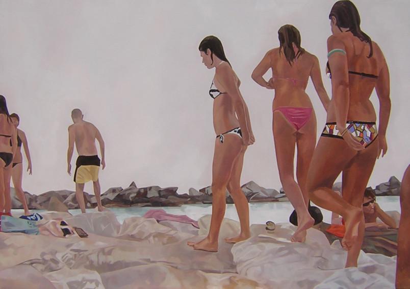 Zaffino, Untitled 01 - 2005 - olio su tela - cm 70 x 100
