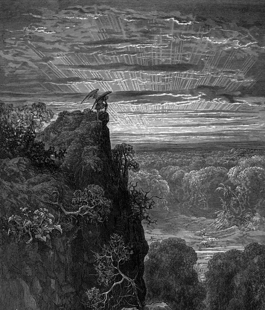 dorè paradiso perduto 1866, 1