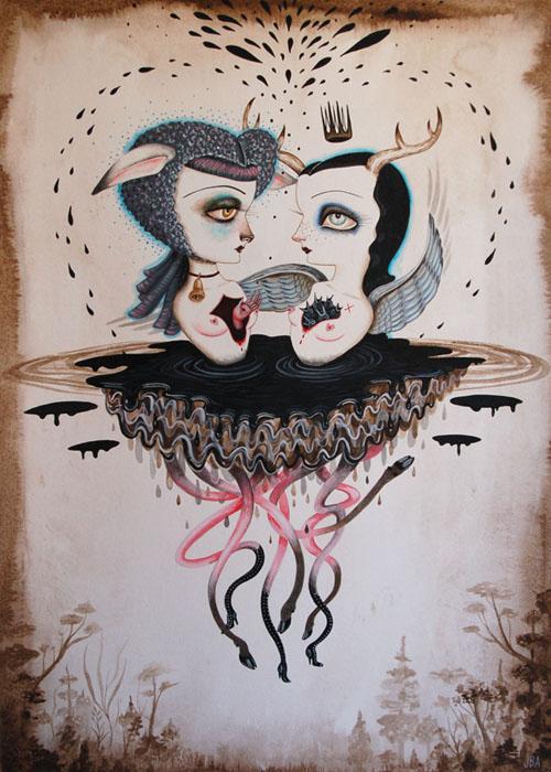 Jennybird Alcantara, Ravenous_creature