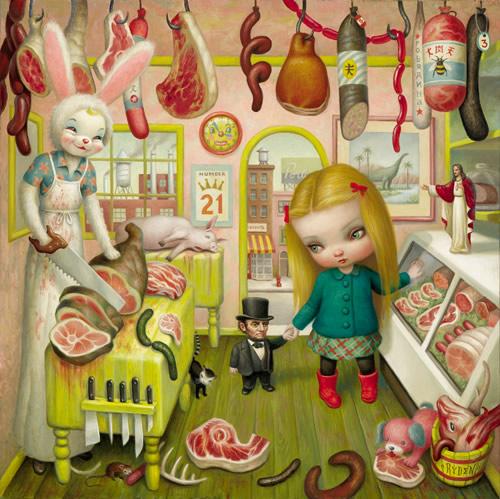 Mark Ryden, The_Butcher_Bunny