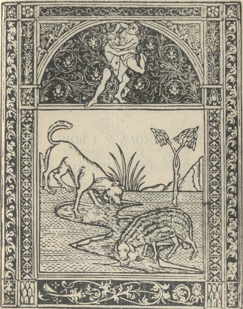 Aesopus moralizatus, in Napoli, per F. Del Tuppo, il Lupo e l'Agnello, 1485