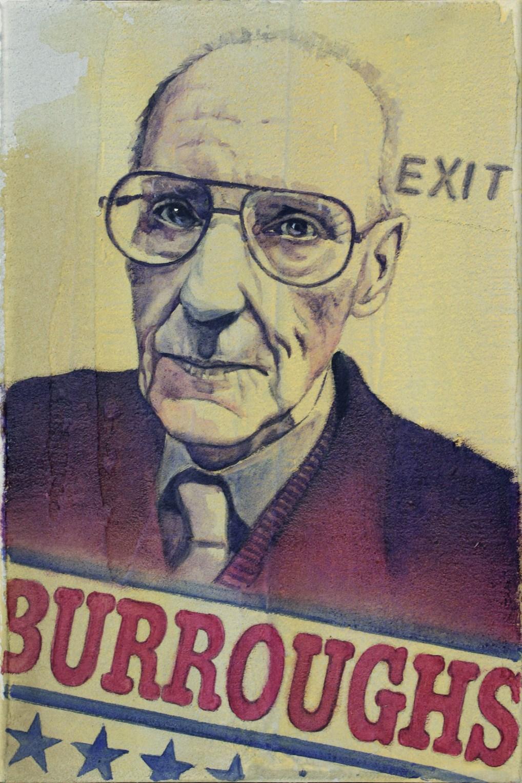 Mauro Barbieri, font-Burroughs-American Typewriter