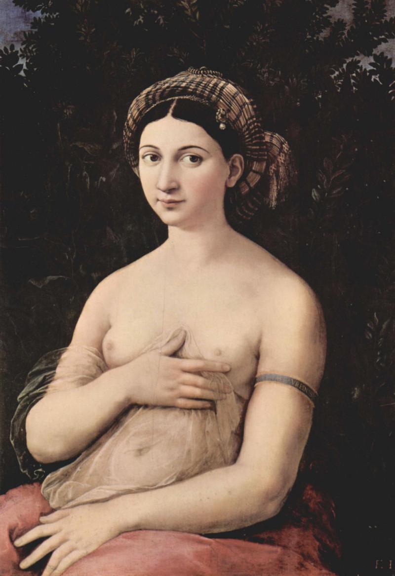 Raffaello_LaFornarina, 1518-1520