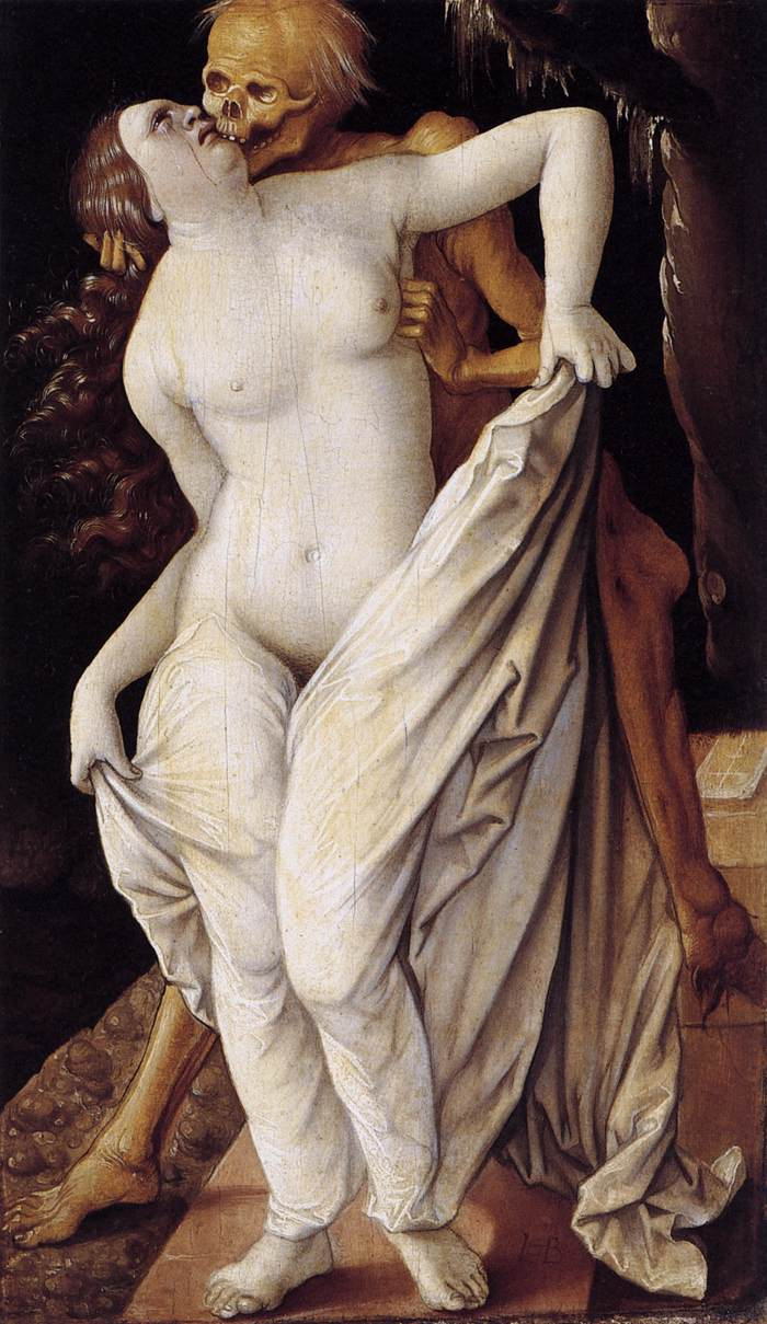 Death and the Maiden - Hans Baldung, 1518-1520