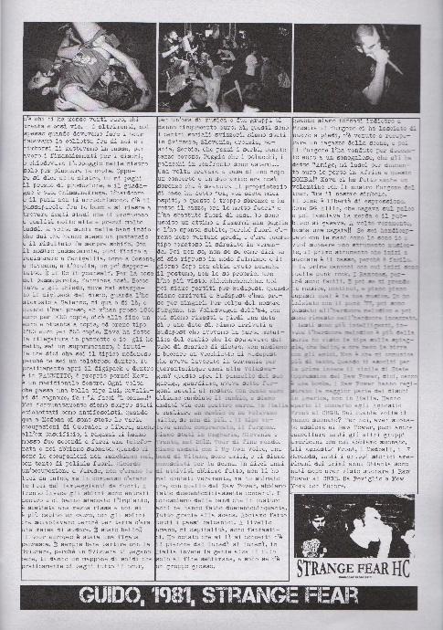 Fanzine Unknown Pleasures numero uno, Tu Quoque Punk - GuidoStrangeFear, grafiche Valentina Mangieri, direz.artistica LST.2
