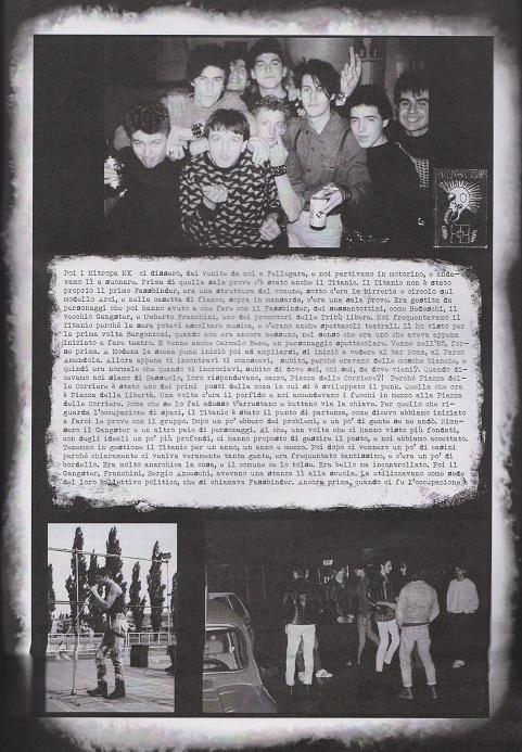 Fanzine Unknown Pleasures numero uno, Tu Quoque Punk - Tritone, grafiche Valentina Mangieri, direz.artistica LST.2