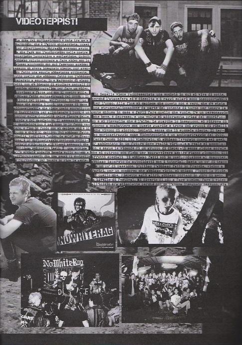 Fanzine Unknown Pleasures numero uno, Tu Quoque Punk - Zanna, grafiche Valentina Mangieri, direz.artistica LST.2